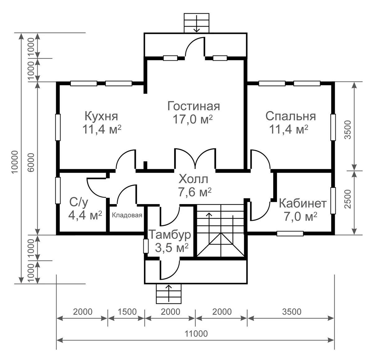 размеры домов на чертежах в картинках проверки