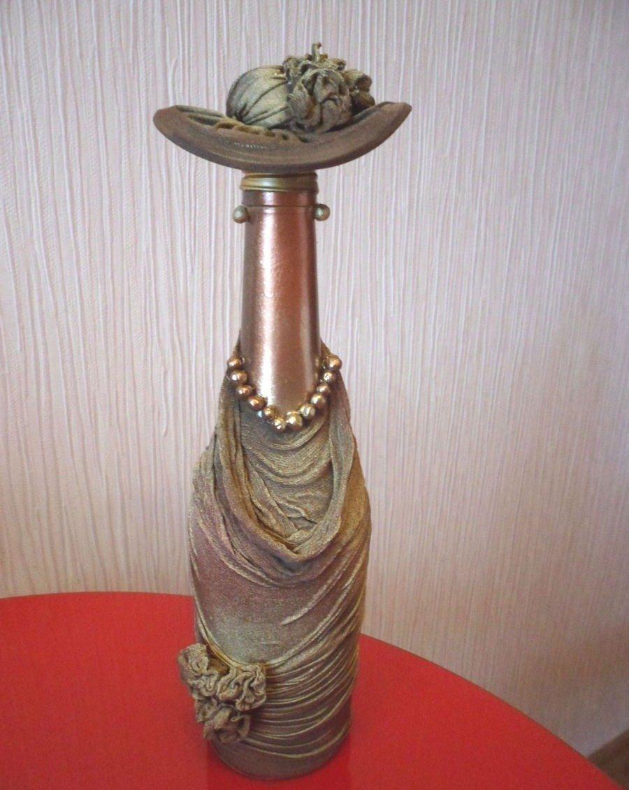 Бутылка Дама в шляпе