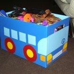 Вариант хранения игрушек