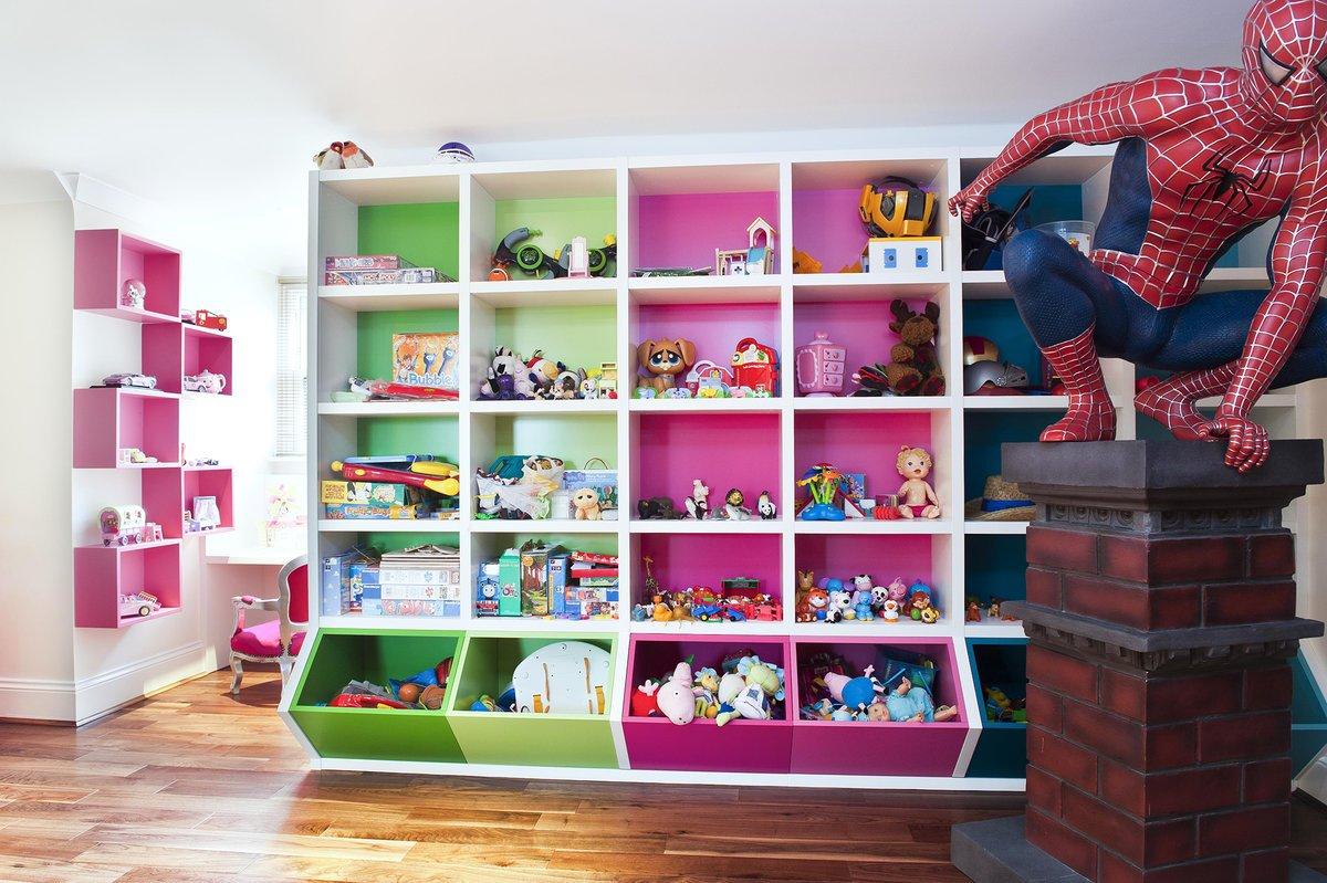 Организация игрушек в детской