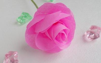 Как сделать розу из бумаги своими руками