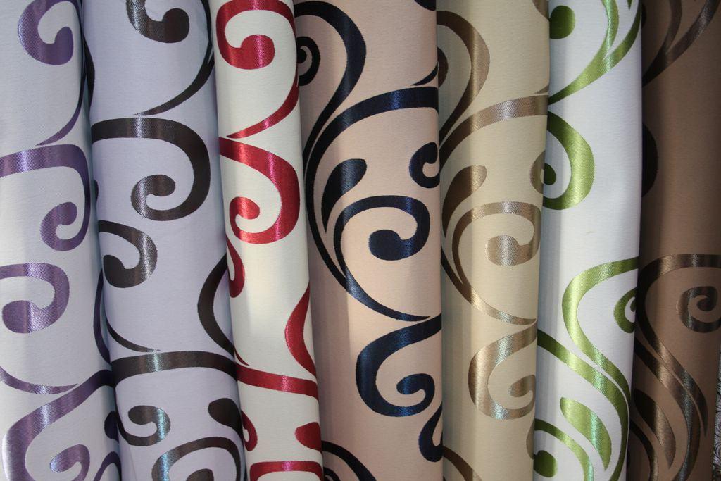Ткань для портьер в рулоне