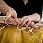 Процесс плетения