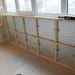 Подготовка балконного помещения