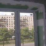 Отделка окна гипсокартоном