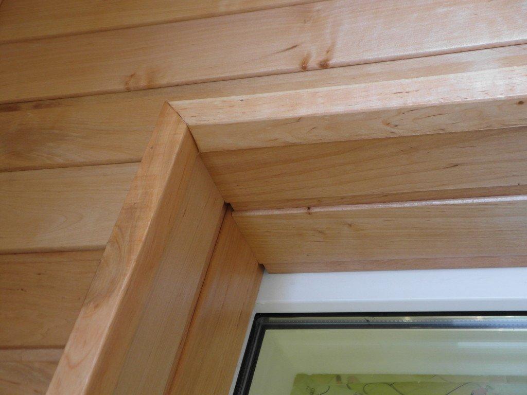 Откосы деревянные
