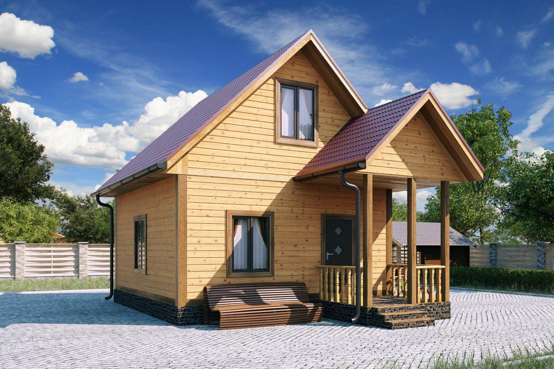 дачный дом из бруса проекты фото решению родителей