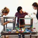 Мастер-класс по покраске мебели