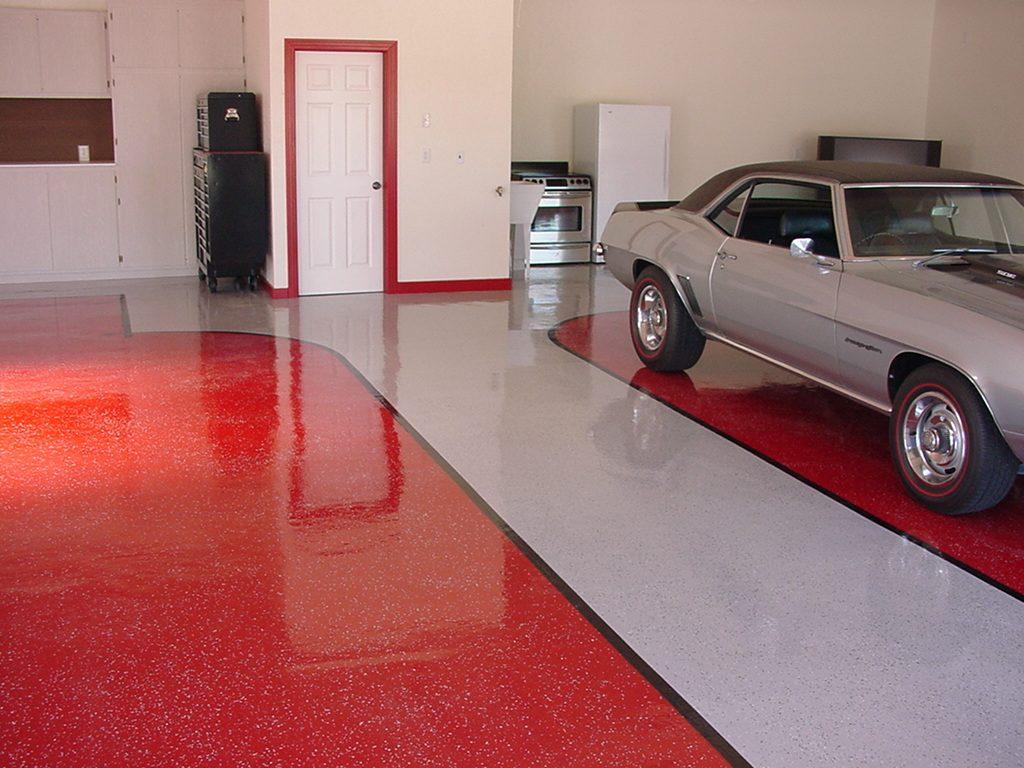 чем покрасить бетонный гараж