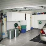Керамическая плитка в гараже