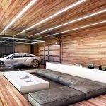 Вагонка на стенах и потолке