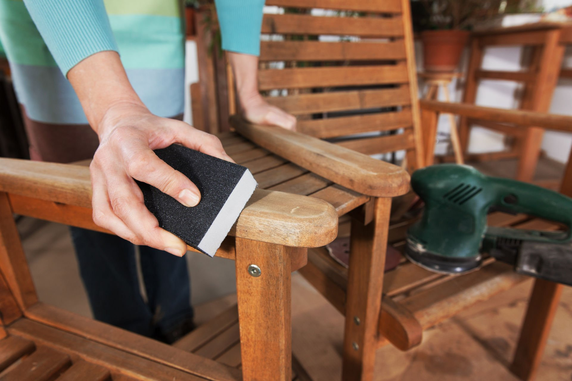 Шлифовка мебели
