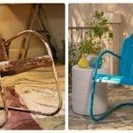 Реставрация металлического стула