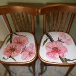 Цветы на сиденье