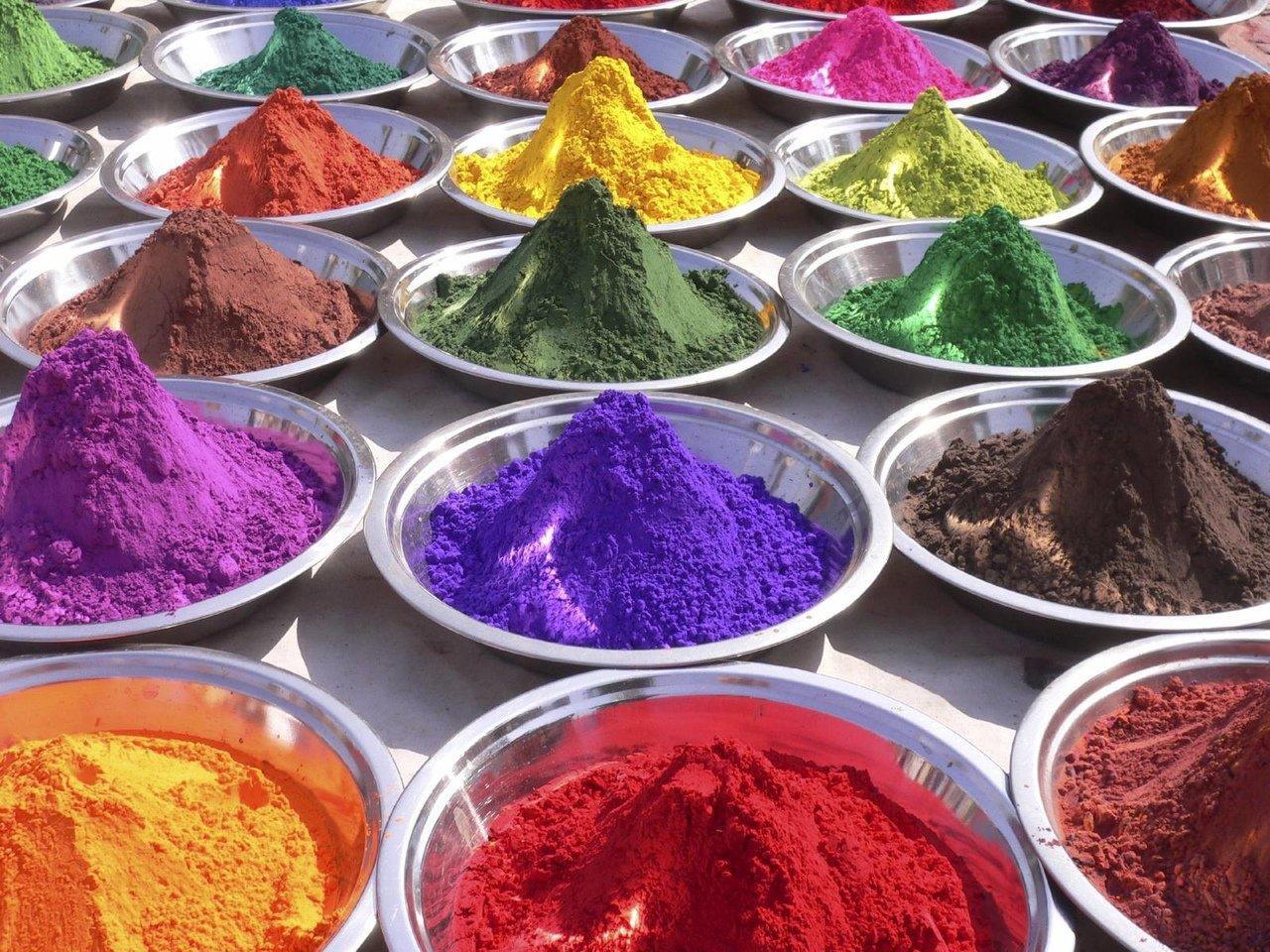 Краски, требующие приготовления