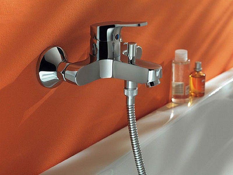 Нормы установки смесителя в ванной