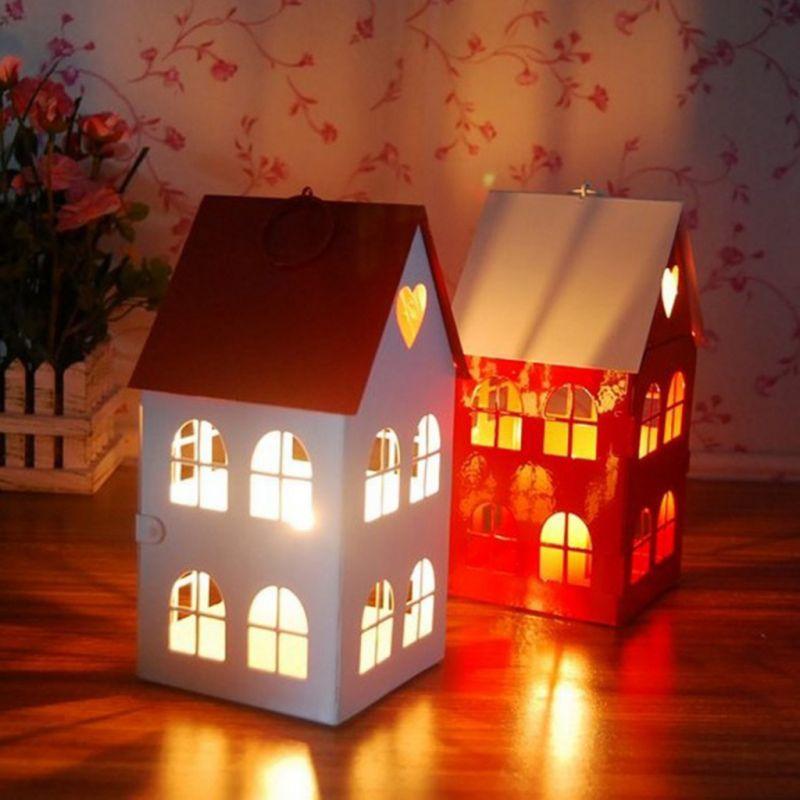 Домики с подсветкой