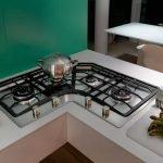 Газовая плитка на кухне