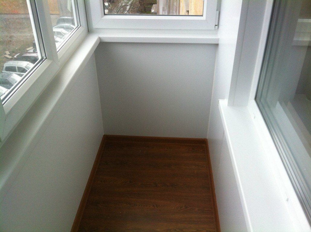 Обшивка балкона сэндвич-панелями
