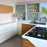 Оформление кухонного интерьера