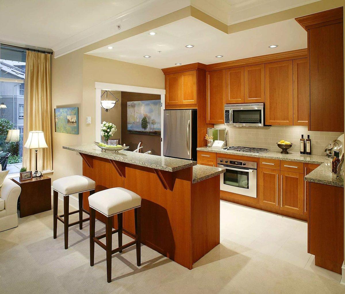 дизайн дневной и кухни фото правильном оформлении, стиль