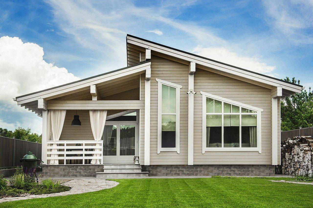 фасады каркасных домов картинки можно сделать открытку