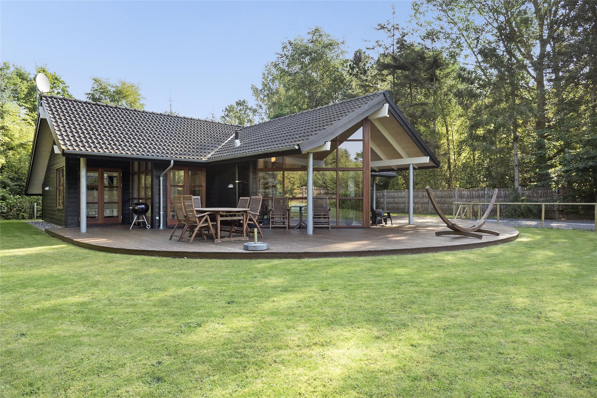 Ландшафтный дизайн с домом в скандинавском стиле
