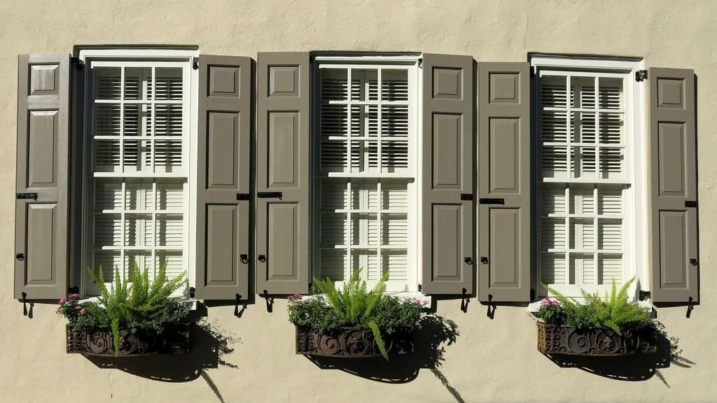 Ставни на окна деревянные