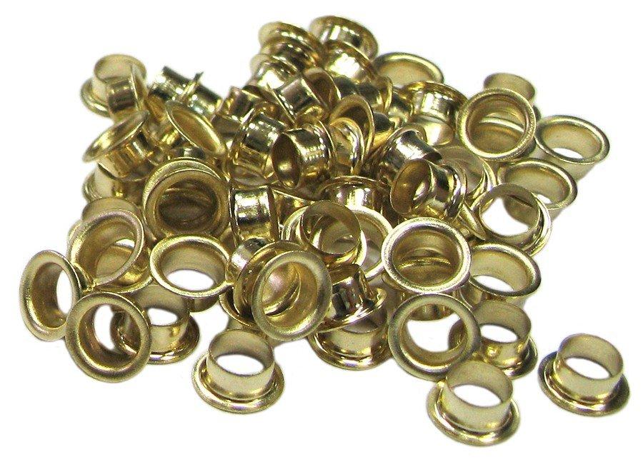 Люверсы золотые