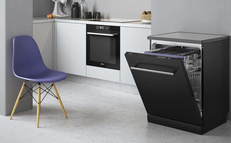 Отдельностоящий модуль с посудомоечной машиной