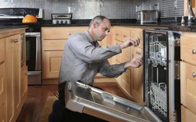 Как установить посудомоечную машину в готовую кухню