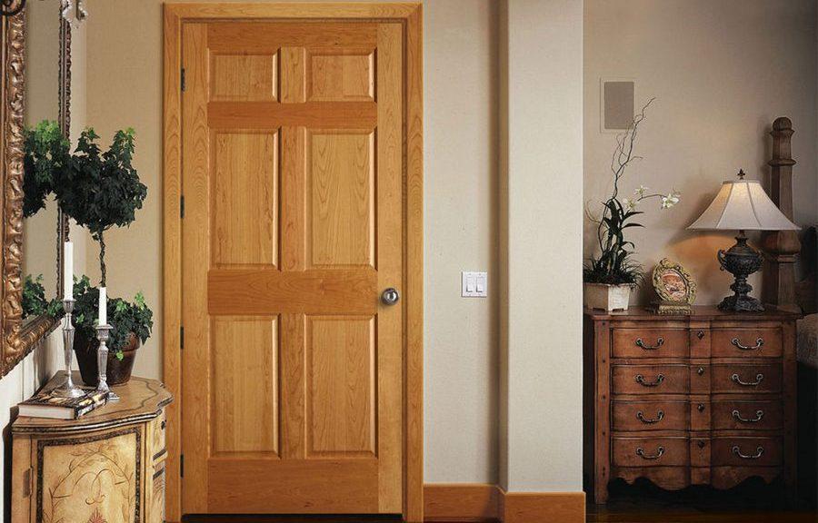 Деревянная дверь своими руками