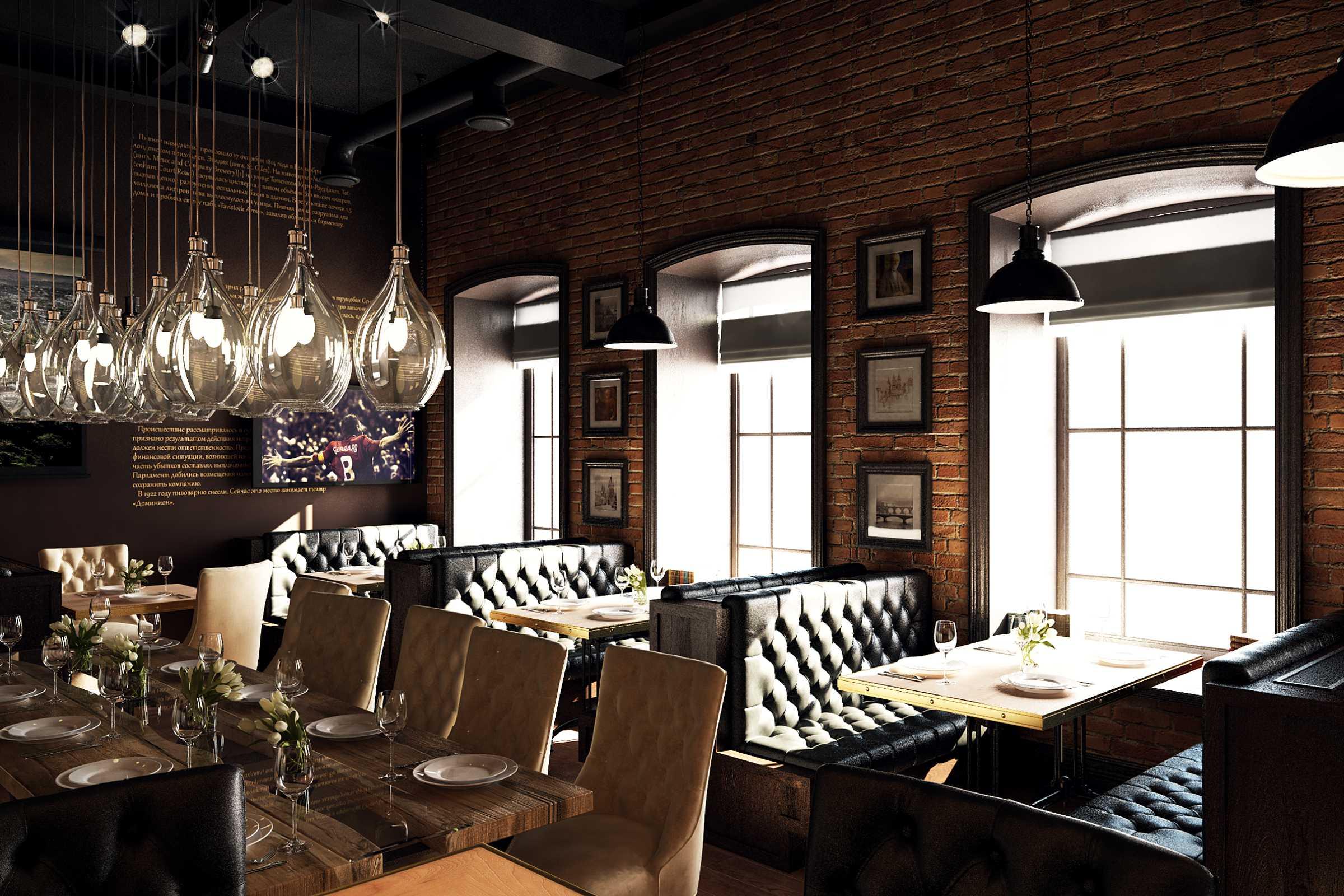 Дизайн ресторана на картинке