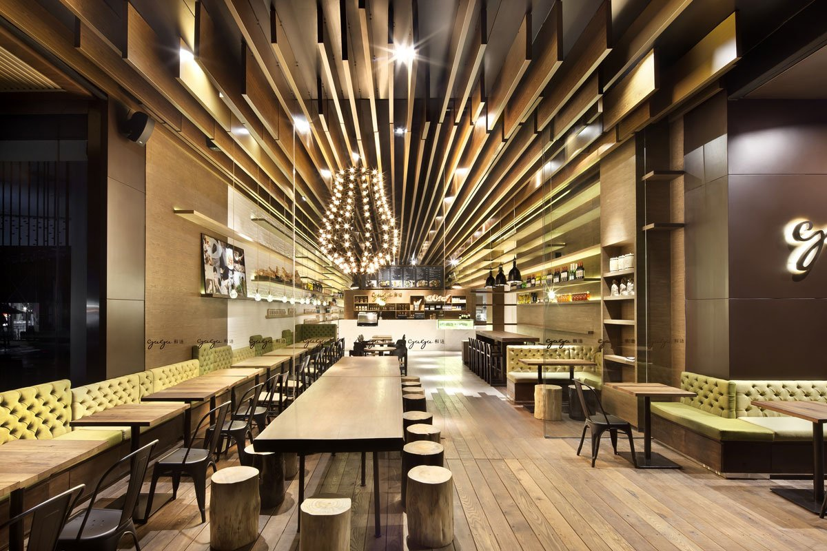 дизайны ресторанов мира фото