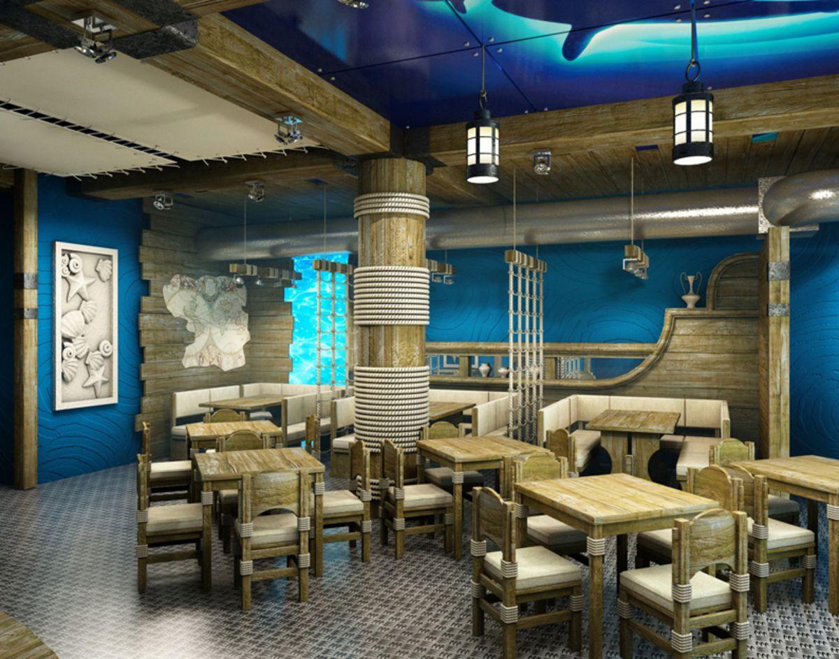 Ресторан в морском стиле