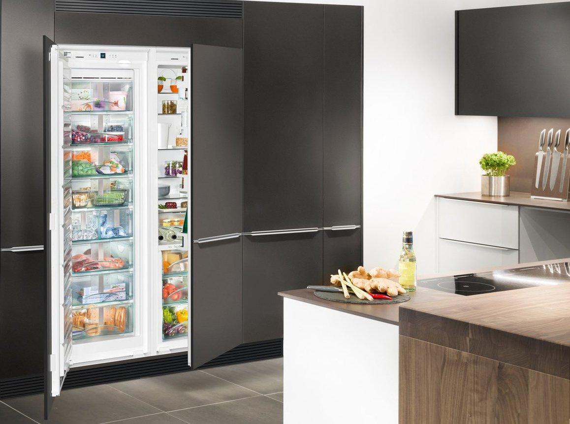 Как встроить обычный холодильник в гарнитур - Отделка