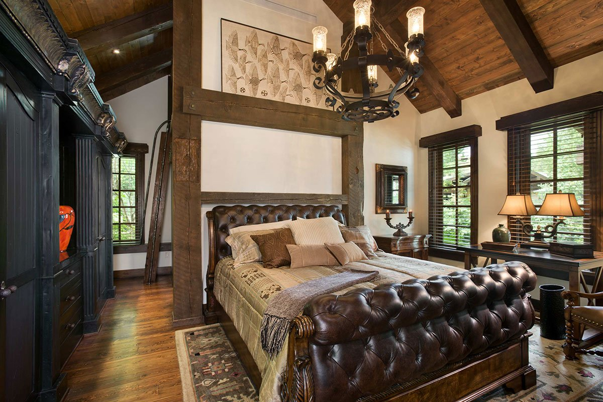 Комната в стиле рустик