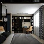 Дизайн комнаты и освещение