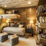 Оформление комнаты в стиле рустик