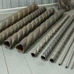 Кованые трубы