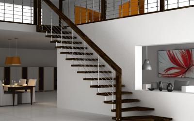Металлические лестницы на второй этаж своими руками