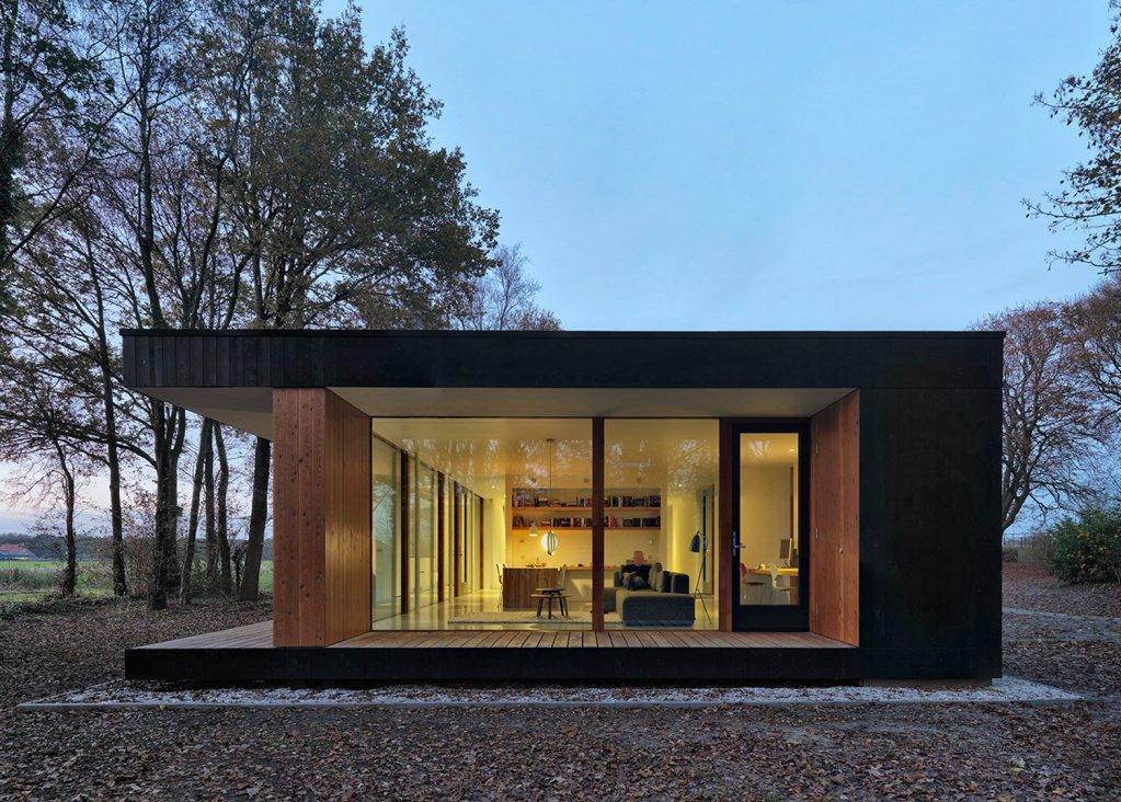 фото одноэтажные дома с большими окнами проекты фото группе