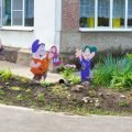 Участок детского сада