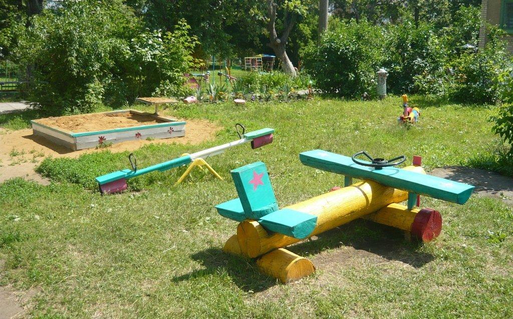 Озеленение площадки