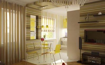 4 варианта перепланировки однокомнатной квартиры хрущевки
