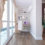 Соединение балкона и комнаты