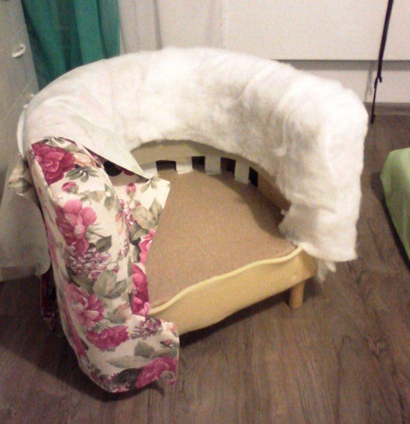 Разборка кресла
