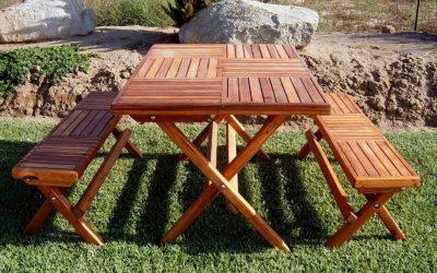 Складной стол своими руками из дерева