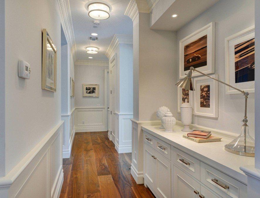 Особенности дизайна узкого коридора - Отделка