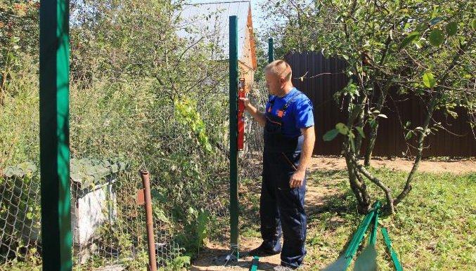 Способы установки опорных столбов